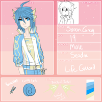 MC App - Soren Grey- by TragedyStreet