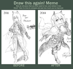 Akira Inari, Before and After (the Meme) by meto30
