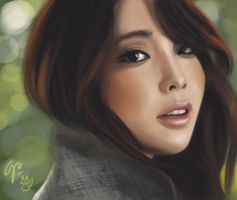 IU speedpainting by AleRafa