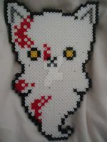 Bloody Ghost Kitty by PerlerHime