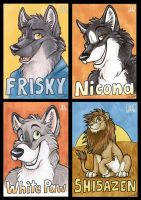 Badges AC 2009 by TaniDaReal