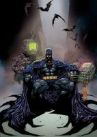 Marc Silvestri Batman by ChrisSummersArts