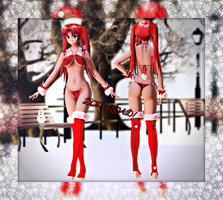.:MMD Christmas Meiling DOWNLOAD:. by ONIGIRIKINGU