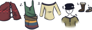 Mendaster - Female Fashion Guide by little-space-ace