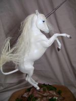 """Fantasia"" ooak unicorn by AmandaKathryn"
