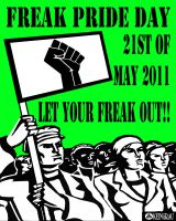Freak Pride Day Poster by Rocail-Studios