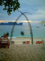 Beach Arch 163386 by StockProject1