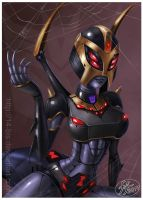 Blackarachnia by 14-bis