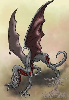 Request 8: Arzy's dragon by Grenyol