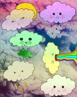 Nubes Png by valipac