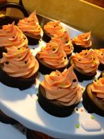 Orange Spiced Cuppycakes by Deathbypuddle