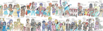 My Horror Characters (Part 2) by FunnyLover13