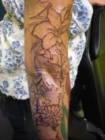 Full sleeve - Upper forearm 1 by Shipht