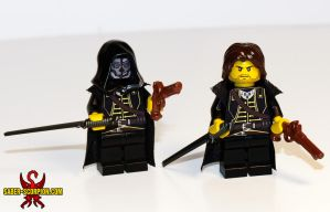 Corvo Attano LEGO Minifig by Saber-Scorpion