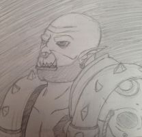 Garrosh, Son of Grom by For-The-Darkspear