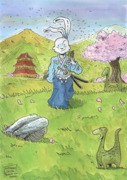 Usagi Yojimbo by graphicus-art