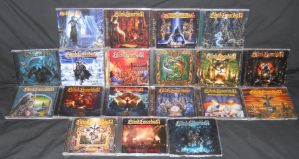 Blind Guardian CD Collection by Malidicus