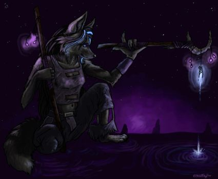 Just Another Magickal Night.. by brushfirewolf