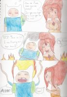 Can't take the heat by SapphireSky1992