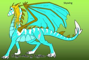 Skywing the Dragoness by trainman666