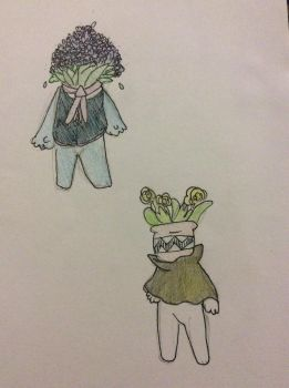 Plant aliens 1/2 by Charli-the-potato