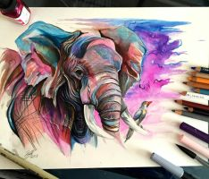 59- Elephant by Lucky978