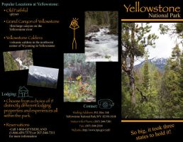Yellowstone Brochure Side 1 by KCCreations