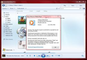Windows Media Player 12.0.7022 by Misaki2009