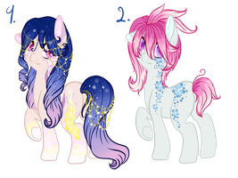 Pony adopts 6 auction CLOSED by Sarahostervig