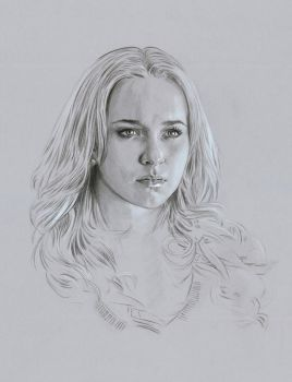 Hayden Panettiere portrait by jasonpal
