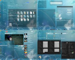 My New Windows Theme by fnxrak