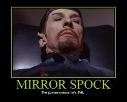 Mirror Spock by TheLilacPilgrim