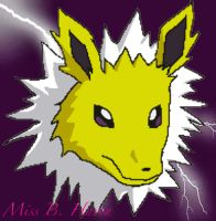 Miss Jolteon by FranklymyDeer