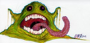 Ground Slimer by gomezvsrufio