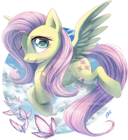 Fluttershy by DragginCat