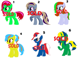 Pony Adopts (CLOSED) by PaintbrushPonyArtist