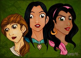 Disney ladies v2 by marixon