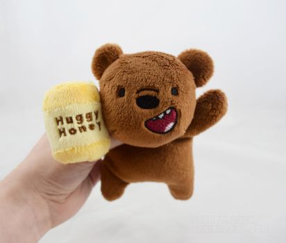 Grizz Kuttari with Honey Pot by PlanetPlush