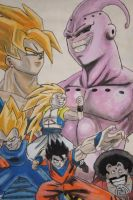 Dragon Ball Z by infernaltai91