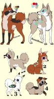 Breedable Pups Adoption 7 CLOSED by MichelsAdoptions