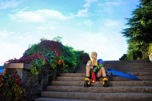 Tidus from Final Fantasy X by Echow88