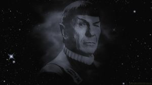 Leonard Nimoy 1931 to 2015 by Dave-Daring