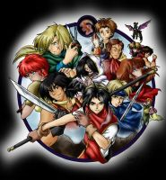 Suikoden - New Cover2 by Kawaii-Ash
