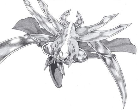 claymore - the flower of the organization by ClaymoreDarkAlicia