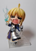 Saber is Angry by wbd