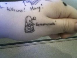 Tattooing Boredness part 2 by AM-Nyeht