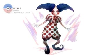 Mr Mime by MrRedButcher