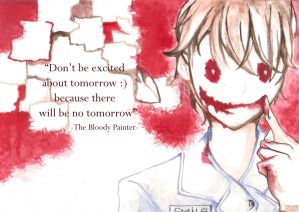 The Bloody Painter by H1m3-Ch4n