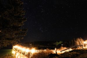 Starry Dock Acadia Maine by ColorSlow