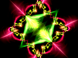 shiny pinkgreen creation by Andrea1981G